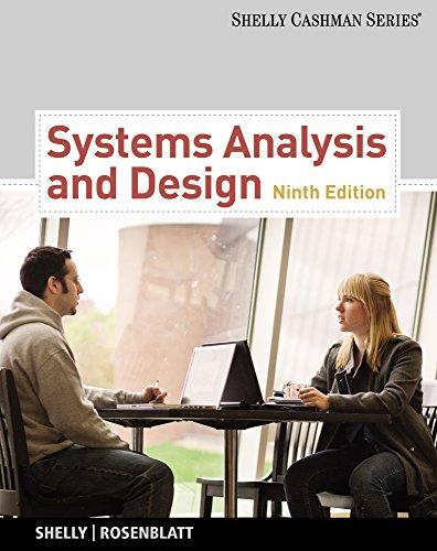 Systems Analysis and Design (Book Only) (Shelly Cashman)