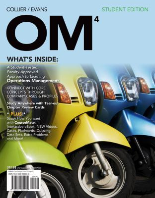 OM 4 (with Review Cards and CourseMate Printed Access Card) (New, Engaging Titles from 4LTR Press)