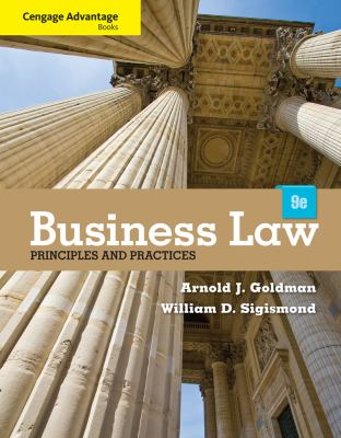 Cengage Advantage Books: Business Law: Principles and Practices