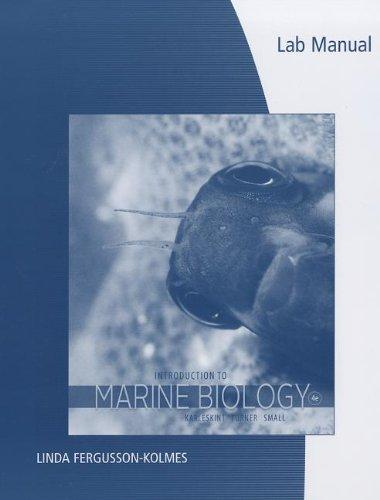 Lab Manual for Karleskint/Turner/Small's Introduction to Marine Biology, 4th