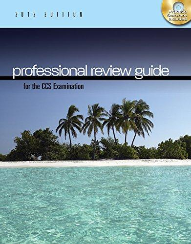 Professional Review Guide for the RHIA & RHIT Examination, 2012 Edition (Book Only)