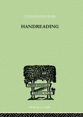 Handreading : A Study of Character and Personality