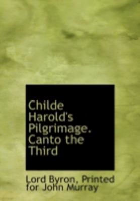Childe Harold's Pilgrimage Canto The