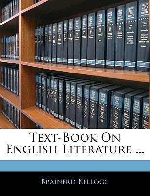 Text-Book On English Literature ...