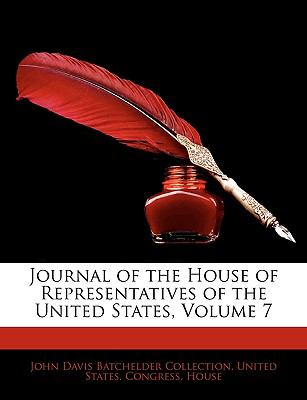 Journal of the House of Representatives of the United States, Volume 7