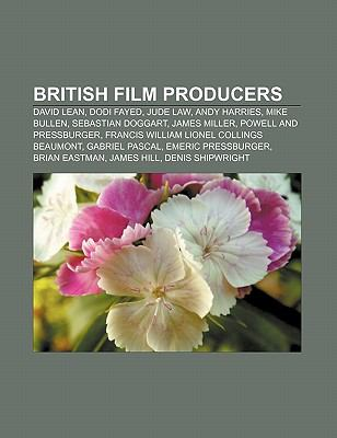 British Film Producers : David Lean, Dodi Fayed, Jude Law, Andy Harries, James Miller, Sebastian Doggart