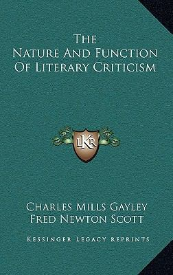 Nature and Function of Literary Criticism
