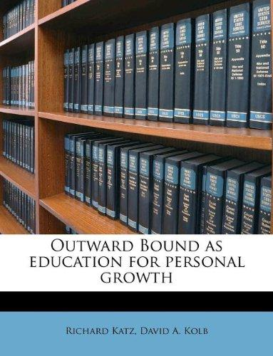 Outward Bound as education for personal growth