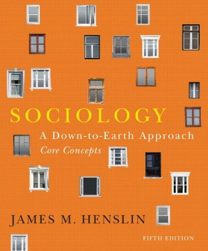 Sociology: A Down-to-Earth Approach, Core Concepts, with NEW MySocLab with Pearson eText (5th Edition)