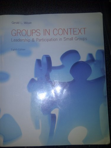 Groups in context
