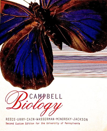Campbell Biology (Second Custom Edition for the University of Pennsylvania)