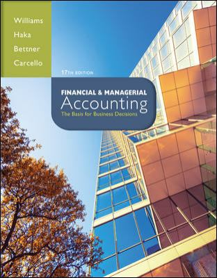 Loose Leaf Financial and Managerial Accounting with Connect Plus