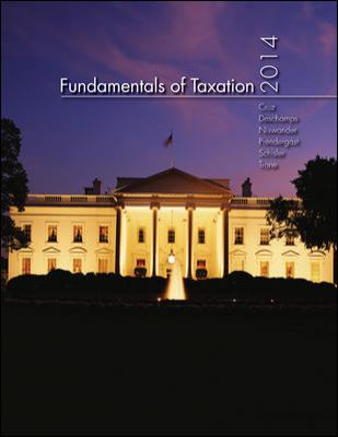 Fundamentals of Taxation 2014 Edition with TaxAct Software CD-ROM + Connect Plus