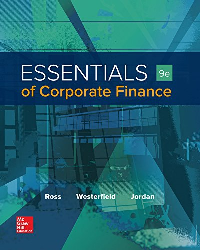 Essentials of corporate finance mcgraw hill irwin series for Mcgraw hill real estate