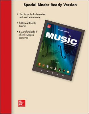 LOOSELEAF MUSIC: AN APPRECIATION BRIEF WITH CONNECT PLUS 1 TERM ACCESS CARD
