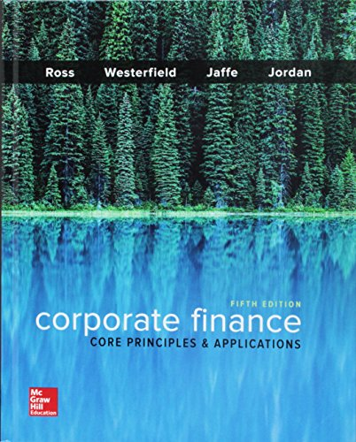 GEN COMBO CORPORATE FINANCE:CORE PRINCIPLES & APPLICATIONS;  CONNECT ACCESS CARD