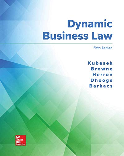 Loose Leaf for Dynamic Business Law