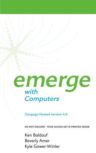 Cengage-Hosted Emerge with Computers 4.0 Printed Access Card