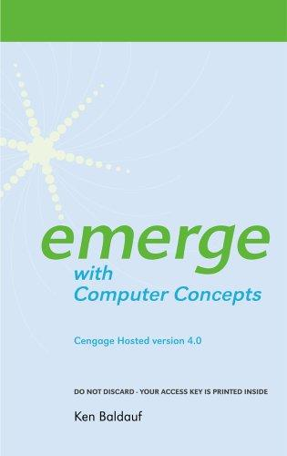 Cengage-Hosted Emerge with Computer Concepts 4.0 Printed Access Card