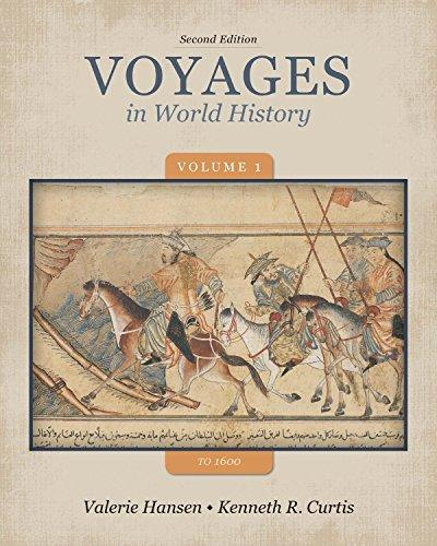 Bundle: Voyages in World History, Volume 1-1600, 2nd + CourseReader 0-30: World History Printed Access Card