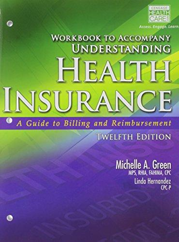 Workbook for Understanding Health Insurance (Book Only