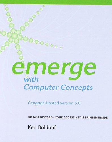 Cengage-Hosted Emerge with Computer Concepts v. 5.0 Printed Access Card (New Perspectives)