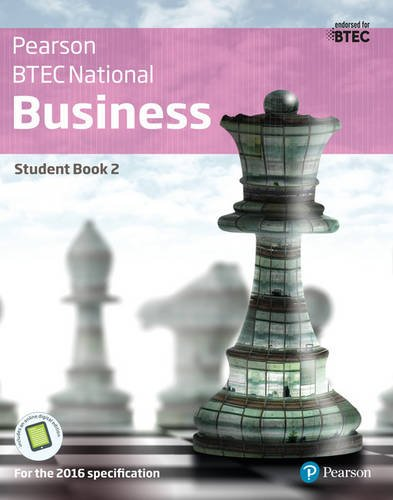BTEC Nationals Business: Student Book + Activebook 2: For the 2016 Specifications (BTEC Nationals Business 2016)