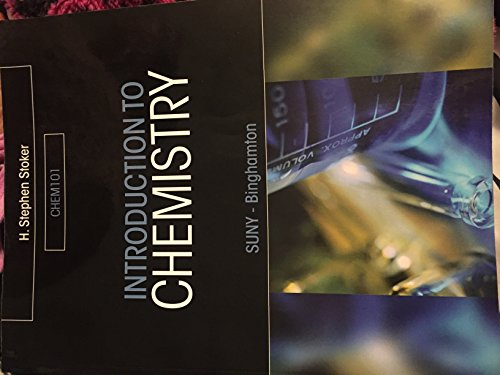 Introduction to Chemistry, SUNY - Binghamton, Chem 101
