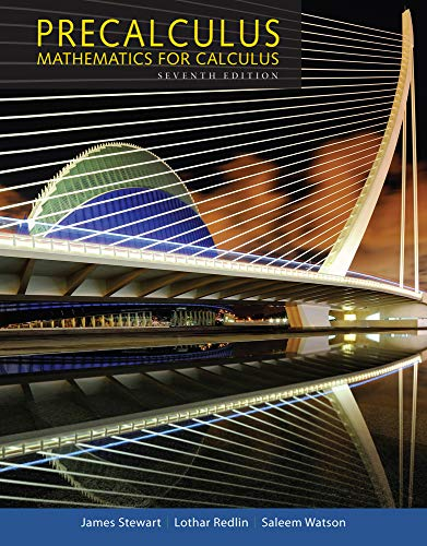 Precalculus: Mathematics for Calculus (Standalone Book)