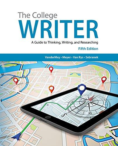 Bundle: The College Writer: A Guide to Thinking, Writing, and Researching, 5th + InSite(TM) 1-Semester Printed Access Card