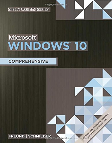 Shelly Cashman Series Microsoft Windows 10: Comprehensive