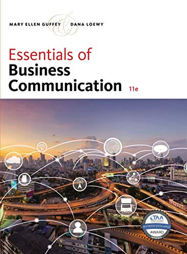 Essentials of Business Communication