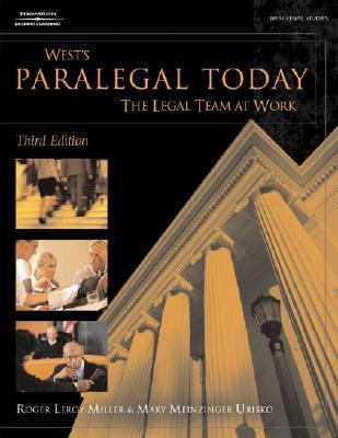 West's Paralegal Today The Legal Team at Work