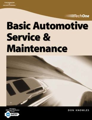 Techone Basic Automotive Service And Maintenance
