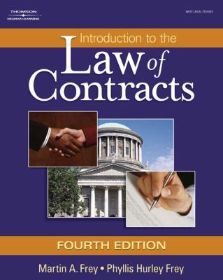 Introduction to the Law of Contracts (West Legal Studies)