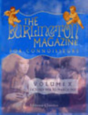 Burlington Magazine for Connoisseurs