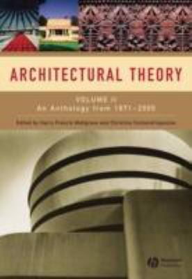 Architectural Theory, Vol. 2