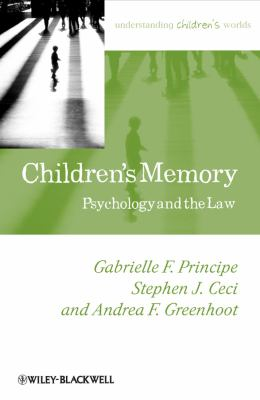 Children's Memory Psychology and the Law