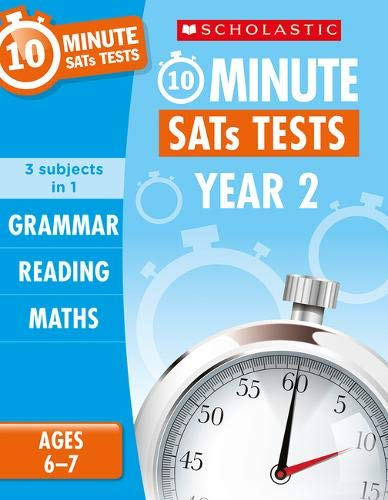 Grammar, Reading and Maths Year 2 (10 Minute SATs Tests)