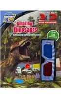 Discovery Kids 3D Sticker Fun: Amazing Dinosaurs (Discovery 3d Sticker)