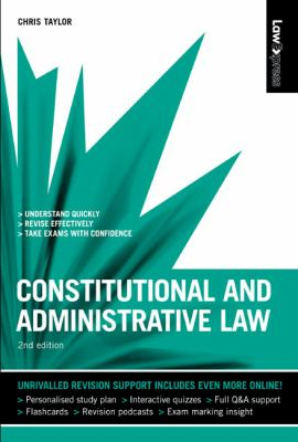 Constitutional and Administrative Law (Law Express)