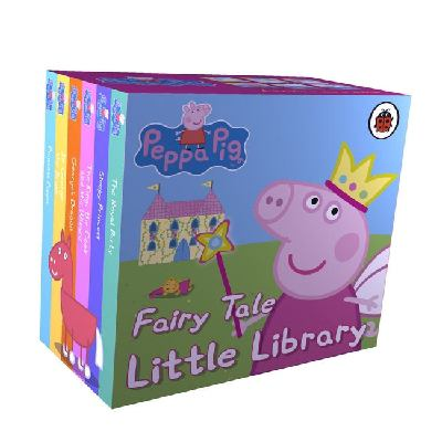 """Peppa Pig ; fairy tale, little library"""