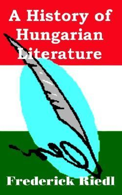 History of Hungarian Literature