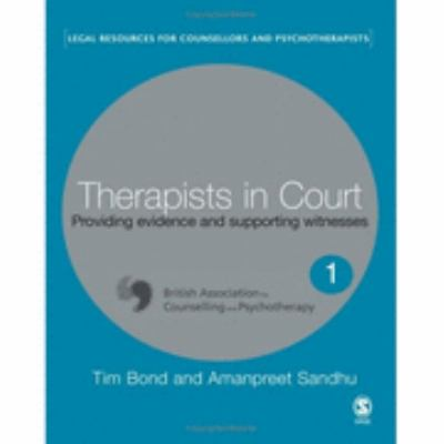 Therapists in Court Providing Evidence And Supporting Witnesses