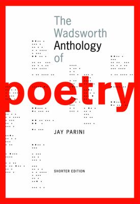 Wadsworth Anthology Of Poetry Shorter Edition