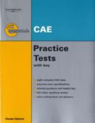 Essential Practice Tests: CAE with Answer Key