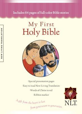 My First Holy Bible New Living Translation New Living Translation, Pink