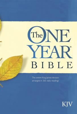 One Year Bible Arranged in 365 Daily Readings King James Version
