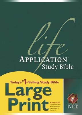 Life Application Study Bible New Living Translation, Black Bonded Leather, Large Print