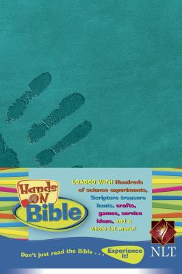 Hands-on Bible New Living Translation, Jade Planet, Leatherlike